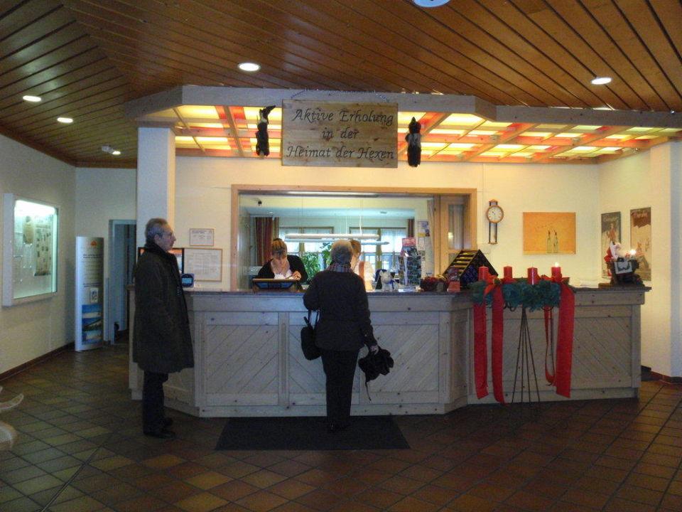 Rezeption Hapimag Resort Braunlage
