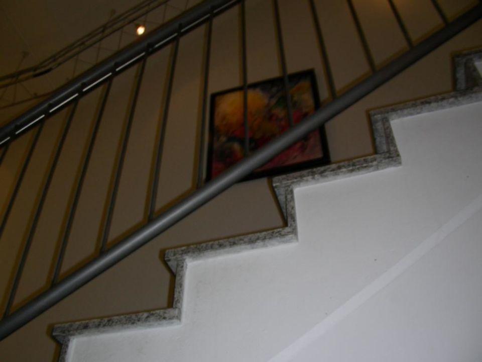 Treppenaufgang Hotel innen Novina Hotel Südwestpark