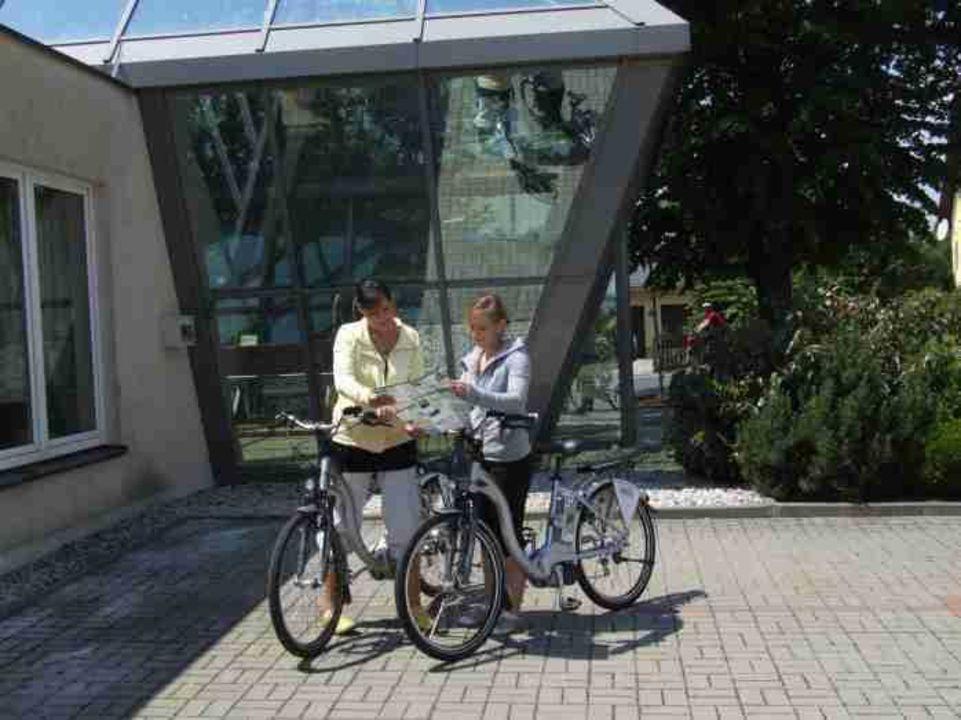 Aktiv mit dem Elektrofahrrad Hotel Der Bayerische Hof