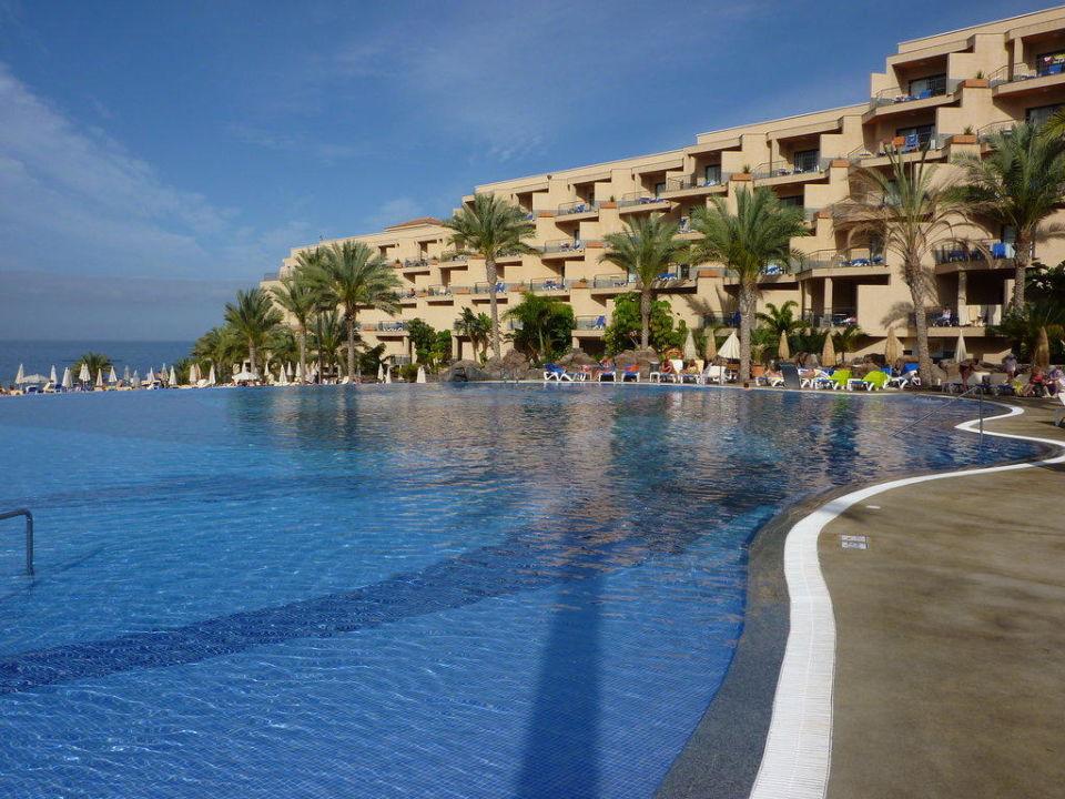 Vue du jardin/piscine Hotel Riu Buena Vista