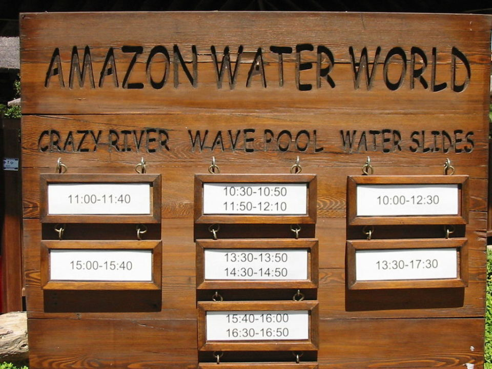 Amazon Water Wrld Club Grand Side