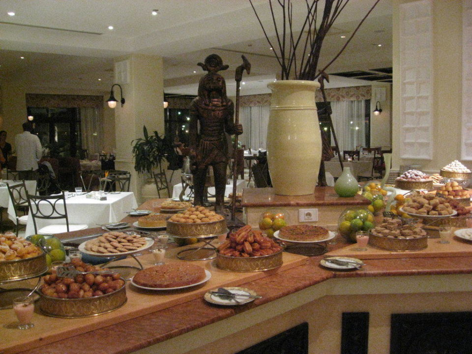 Dessertbuffet Steigenberger ALDAU Beach Hotel