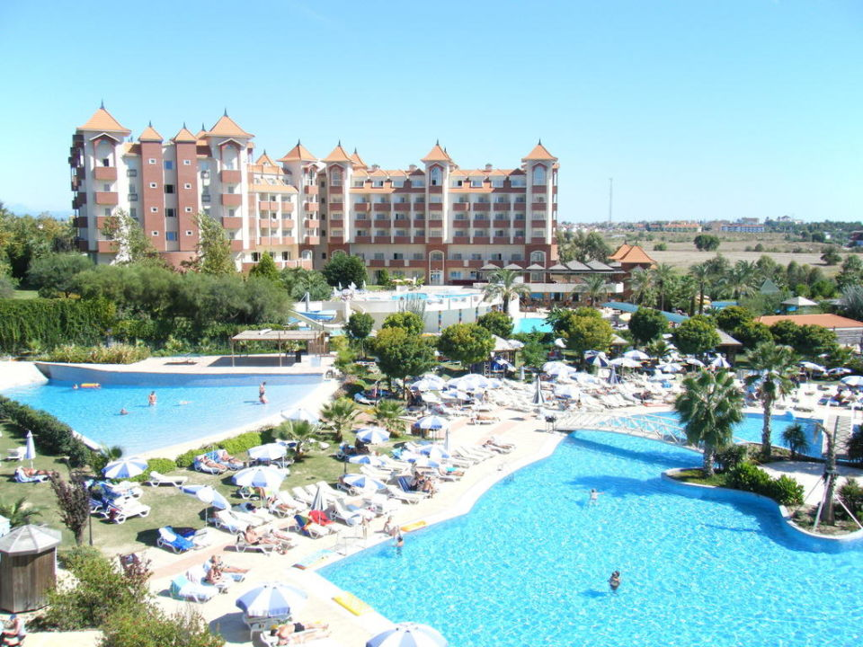 Blick vom Balkon zum Pool Hotel Side Mare Resort & Spa