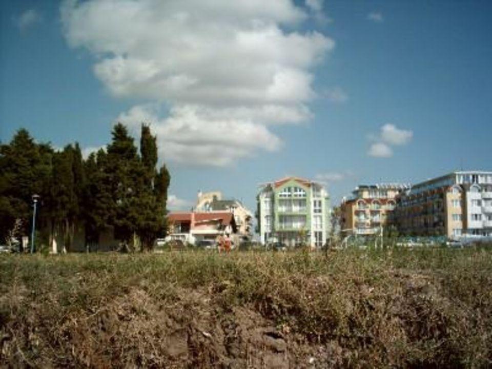 Hotel vom Strand aus Hotel Riviera