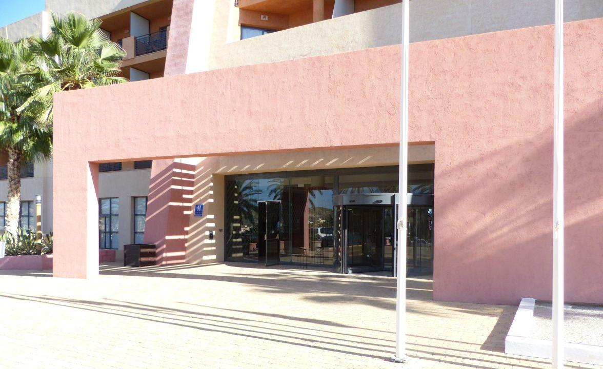 Der Eingang Hotel Valle del Este Golf Spa
