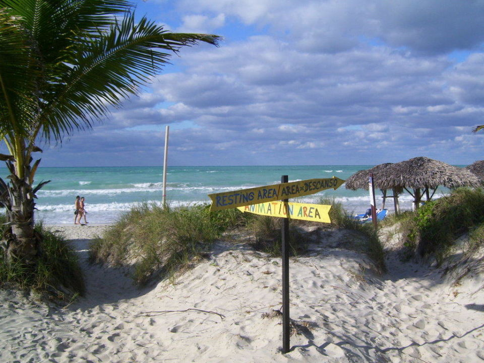 Weg zum Strand Hotel Melia Las Antillas