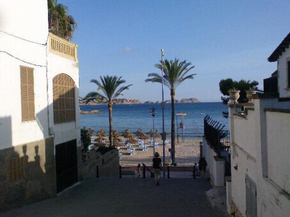 Weg Zum Strand Allsun Hotel Paguera Park Peguera Holidaycheck