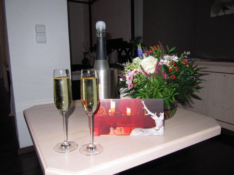 Doppelzimmer Luxus im OG Hotel Platzhirsch