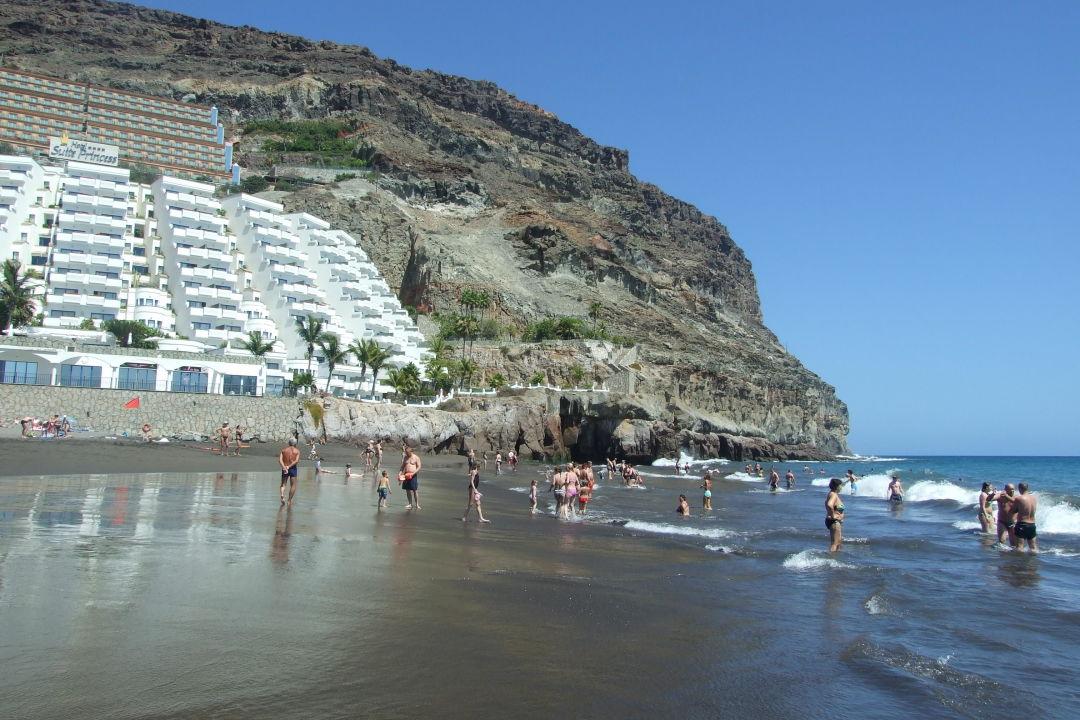 bild piekna czarno piaszczysta pla a zu hotel paradise lago taurito