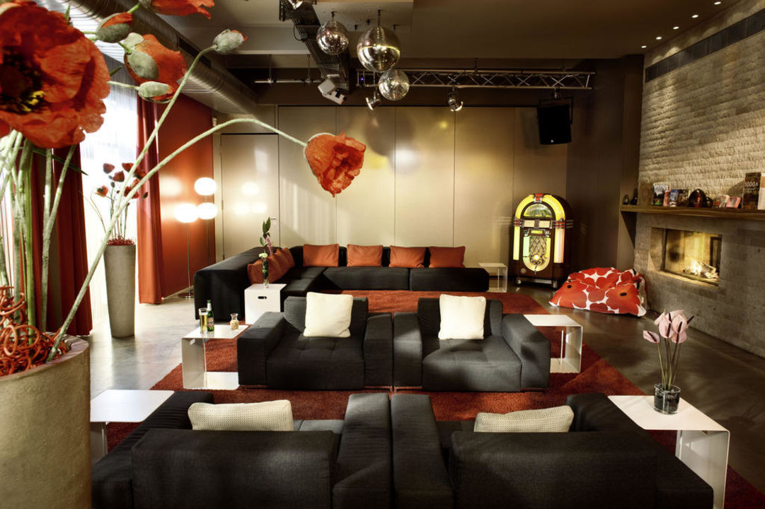 Wohnzimmer 25hours Hotel Number One Hamburg Altona Holidaycheck