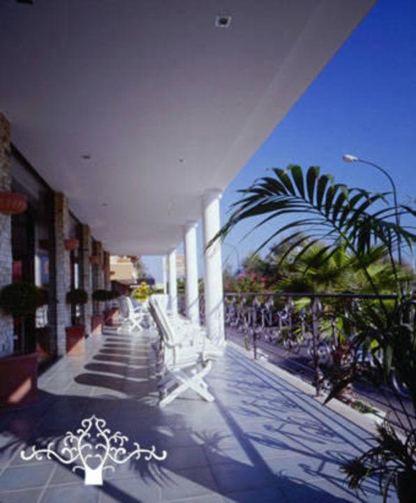 Terrazza panoramica sul Lungomare di San Benedetto Hotel Dino