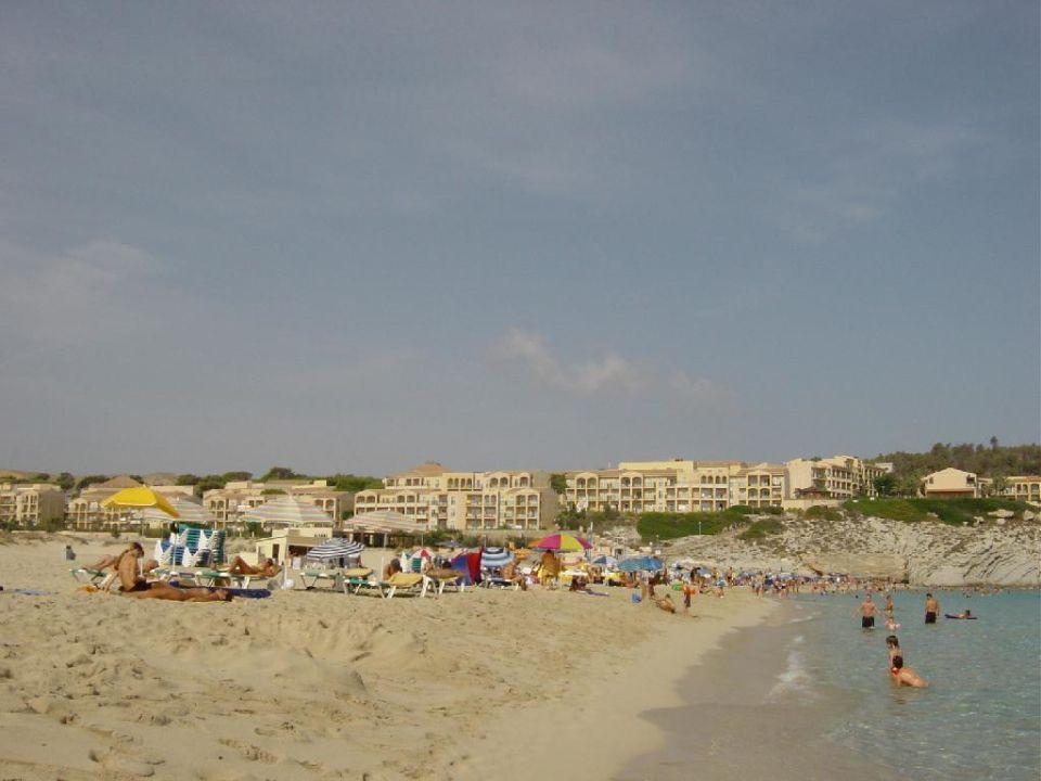 Blick auf die Anlage Hotel Viva Cala Mesquida Resort