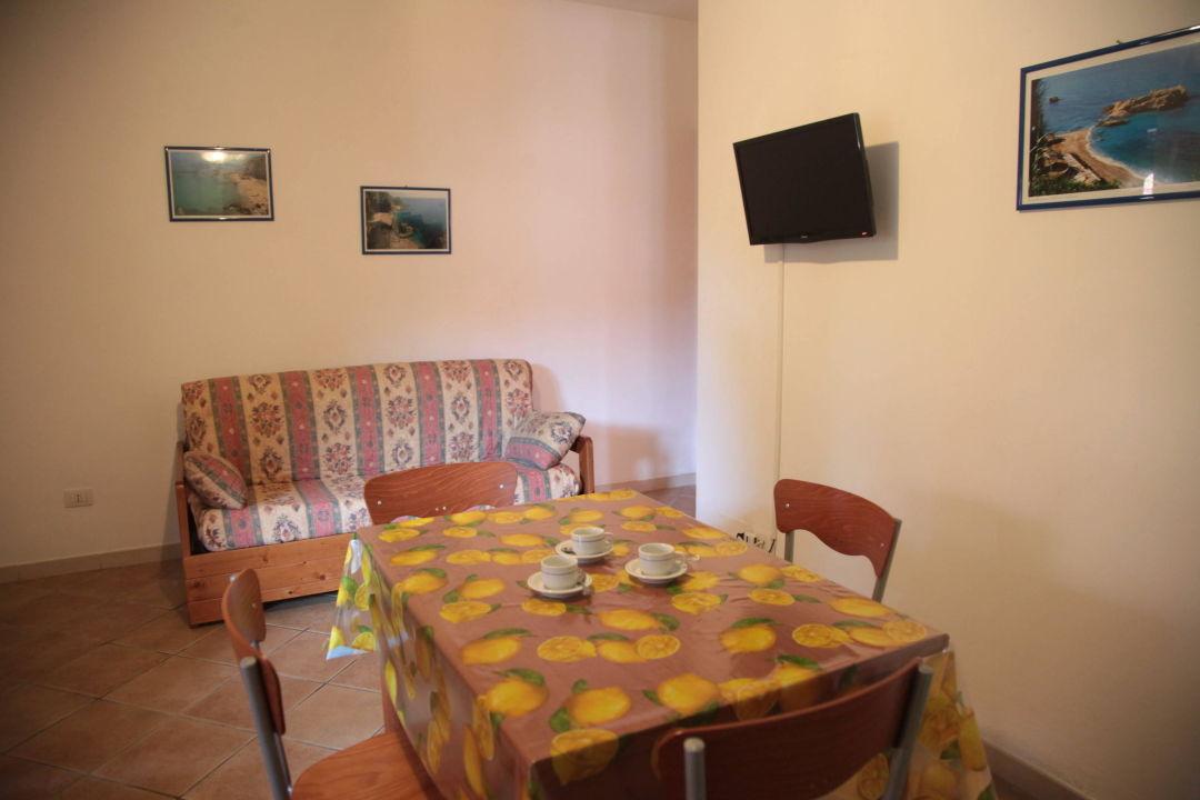 Cucina-soggiorno Residenza La Vigna