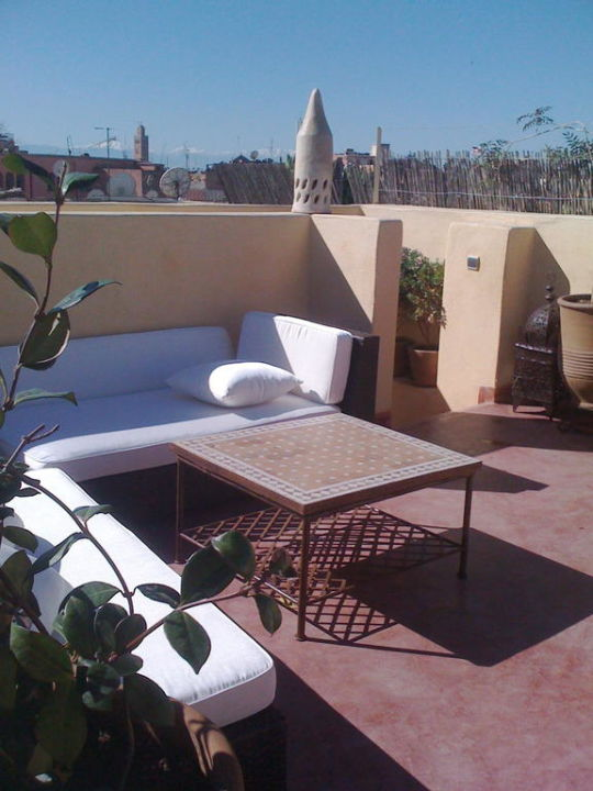 Terrasse Suite Riad Cocoon