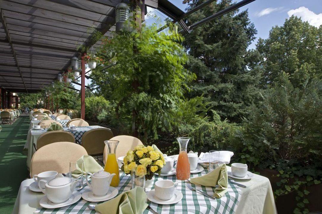 Terrace Danubius Health Spa Resort Sárvár