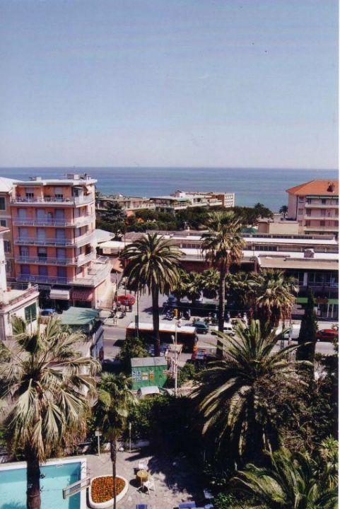 Aussicht vom Hotel Hotel Eden San Remo