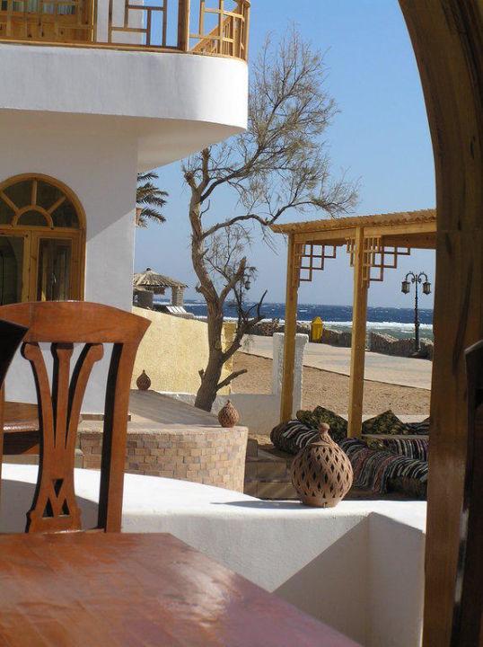 Blick vom Restaurant Shams Hotel
