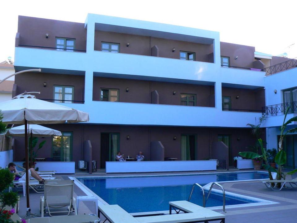 Hotel od strony ogrodu Hotel Stella Katrin