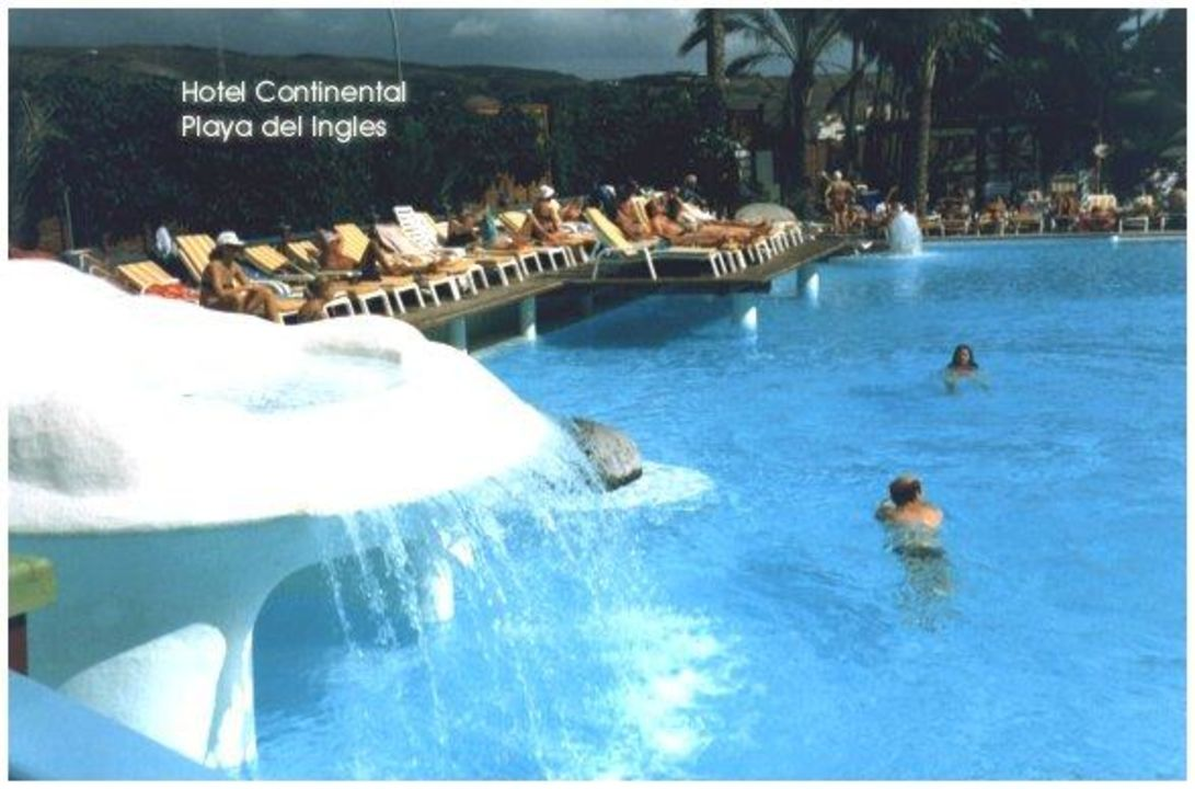 Pool vom IFA in Playa del Ingles Abora Continental by Lopesan Hotels