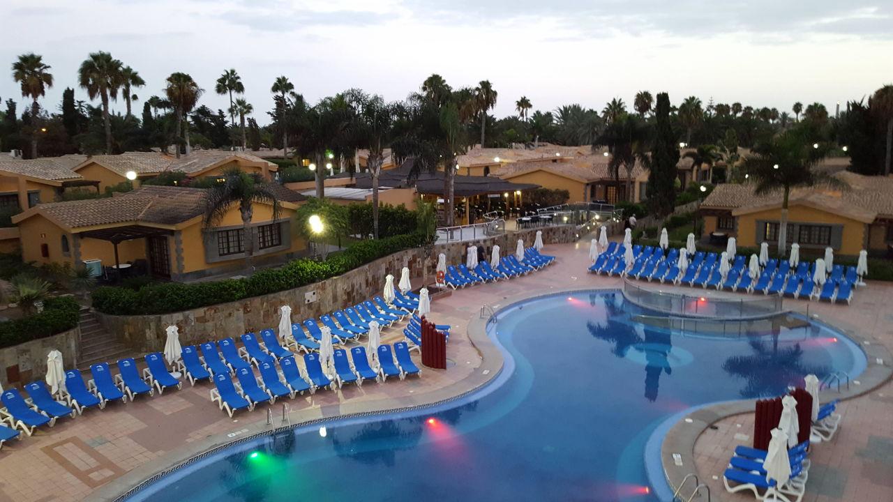 Pool beleuchtet Maspalomas Resort by Dunas