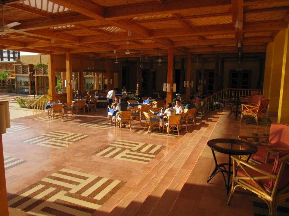 Außenbereich Fairways Restaurant Steigenberger Golf Resort El Gouna