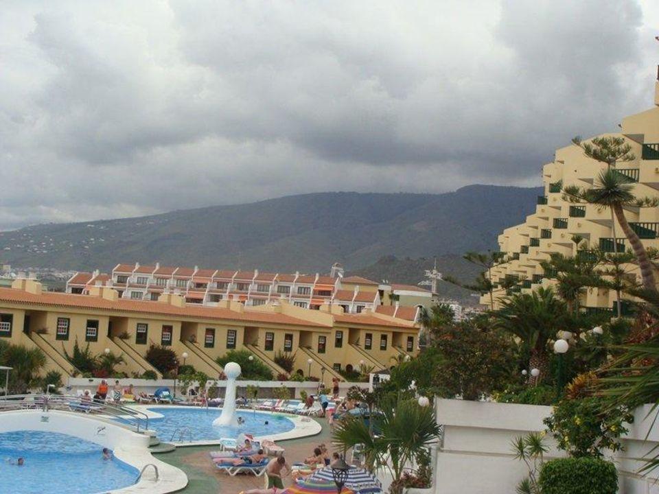 Widok na basen Hotel Laguna Park I