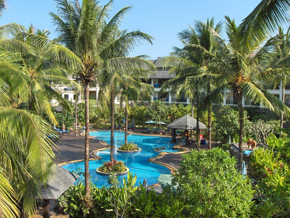 Anderer Balkonblickwinkel Khaolak Orchid Beach Resort