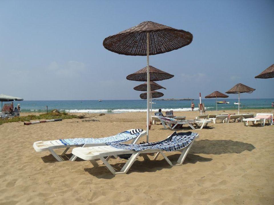 Der Strand des Annabella Garden/Beach Annabella Diamond Hotel & Spa & Annex