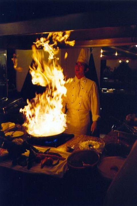 Die Kochkunst im Sultan Saray Hotel Mirada del Mar