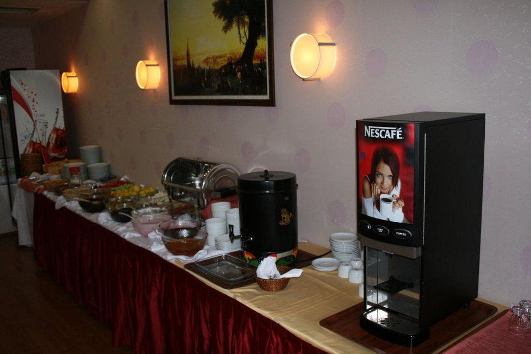 Kleines, aber feines Frühstücksbuffet Hotel Erbil