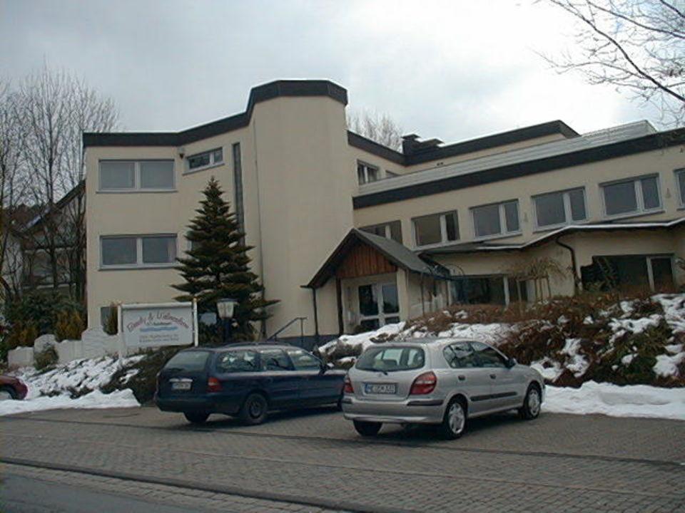 Ansicht von der Zufahrtsstraße Hotel Beauty & Wellnessfarm  (geschlossen)