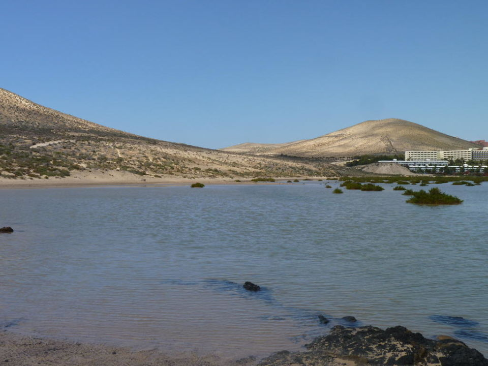 Lagunenblick bei Flut Sol Beach House at Melia Fuerteventura