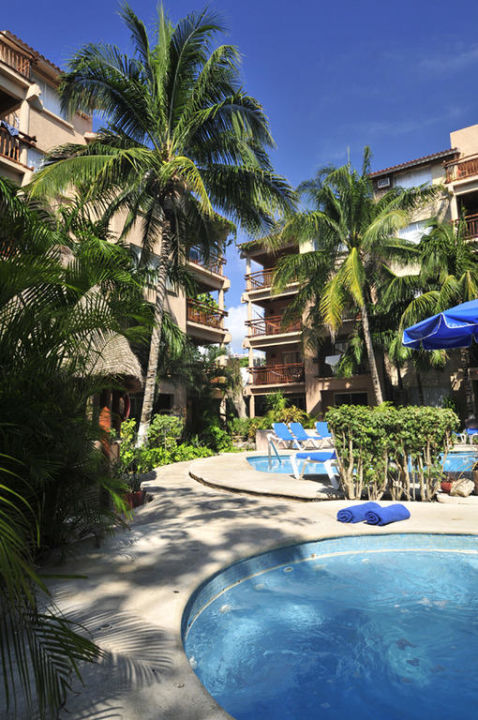 Tukan Hotel & Beach Club Gartenanlage und Pool El Tukan Hotel & Beach Club