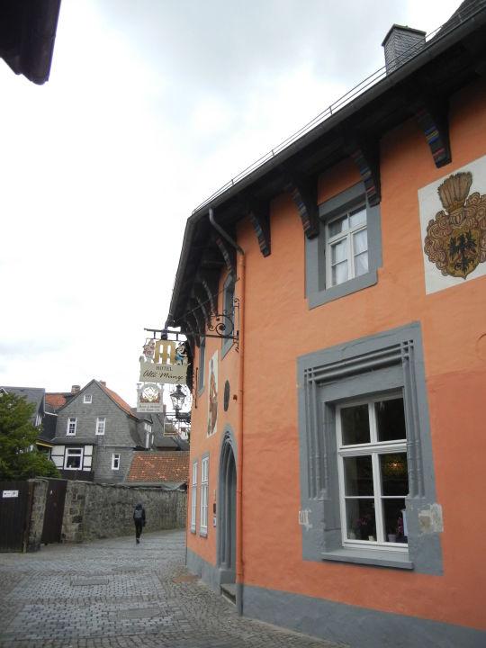 Hoteleingang Hotel Alte Münze Goslar Holidaycheck