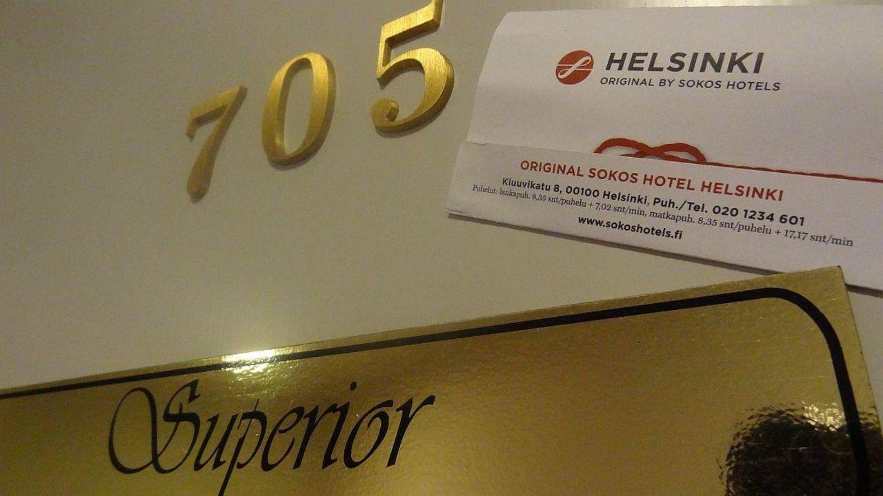 Superior room Original Sokos Hotel Helsinki