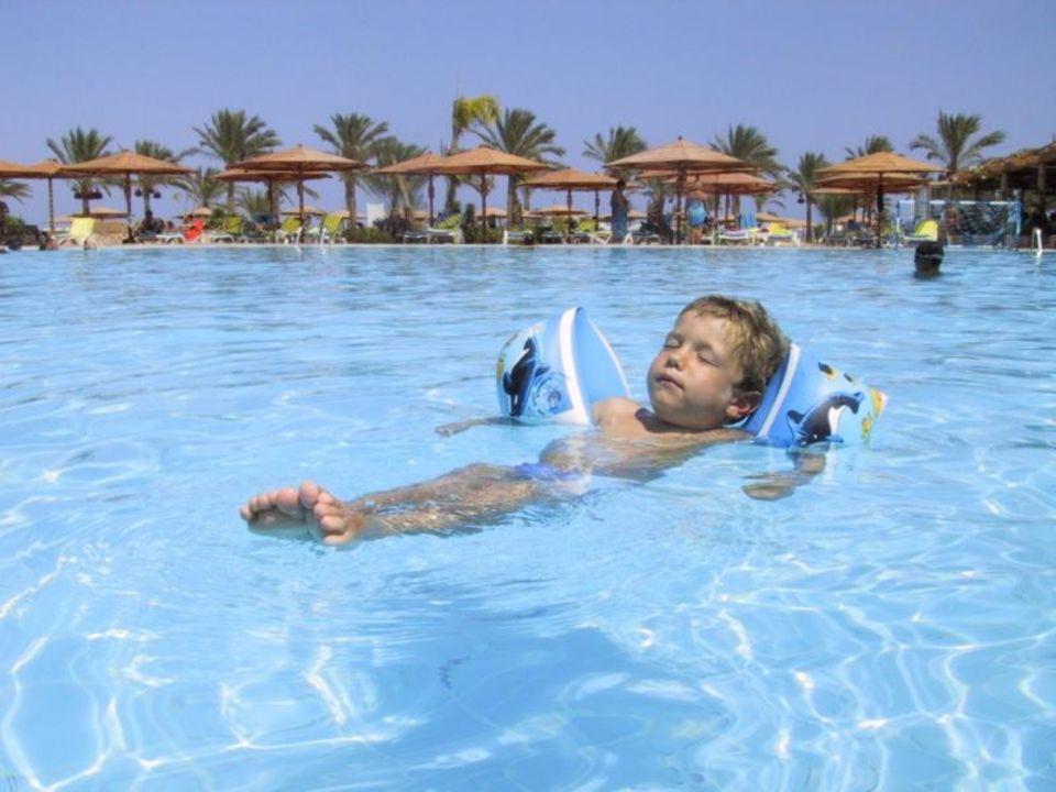 Paul im Pool des Inter-Continental Hurghada Continental Hotel Hurghada