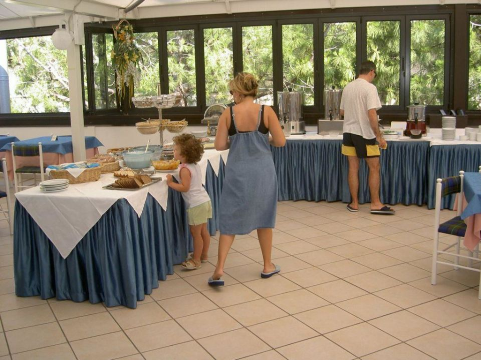 Frühstücksraum Hotel Conca Verde Hotel Conca Verde