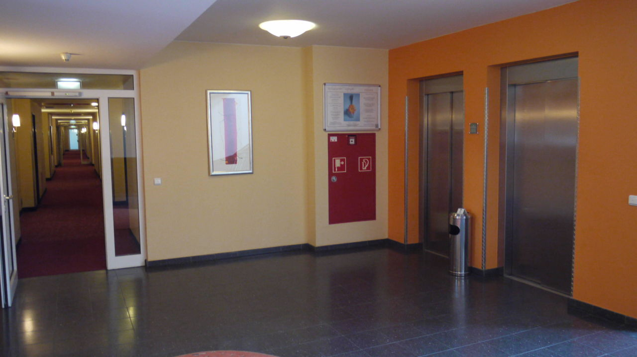 Zum Fahrstuhl Hotel Park Consul Köln