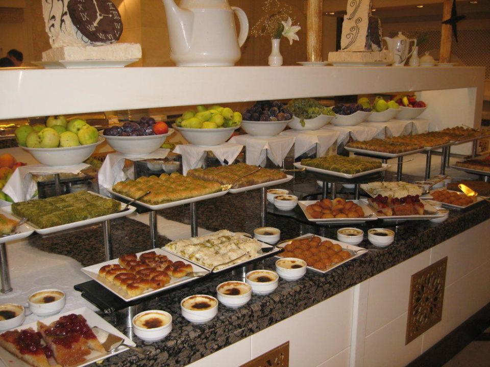 Dessertbuffet Hotel Güral Premier Tekirova