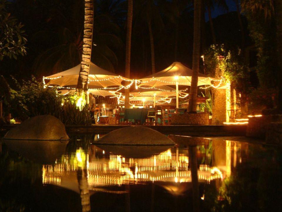 Pizzeria am Pool Hotel Sheraton Senggigi Lombok Beach Resort