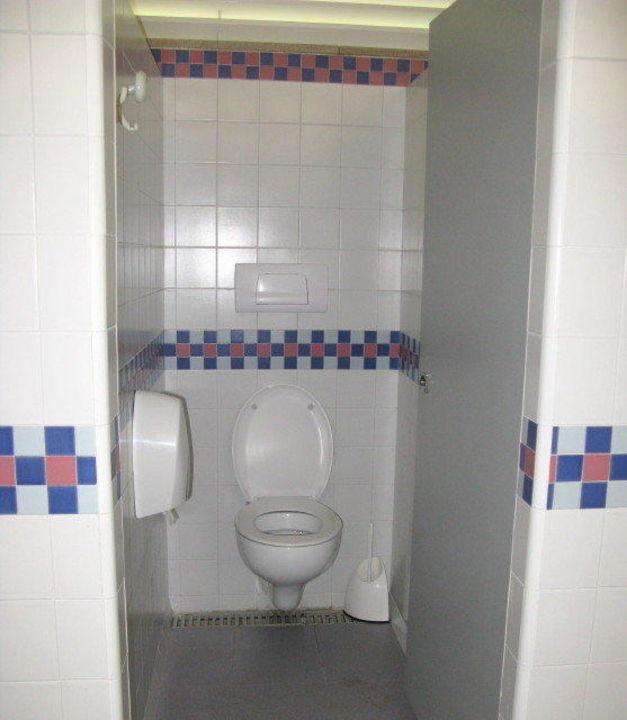 Toilettenanlage Herren, inkl. ToiPapier Camping Union Lido