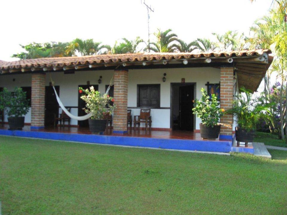 Blick auf unser Zimmer Finca Hotel El Bosque del Samán