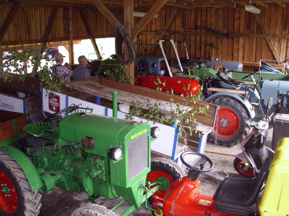 Hessen Mühle traktorführerschein machen landgasthof hessenmühle großenlüder