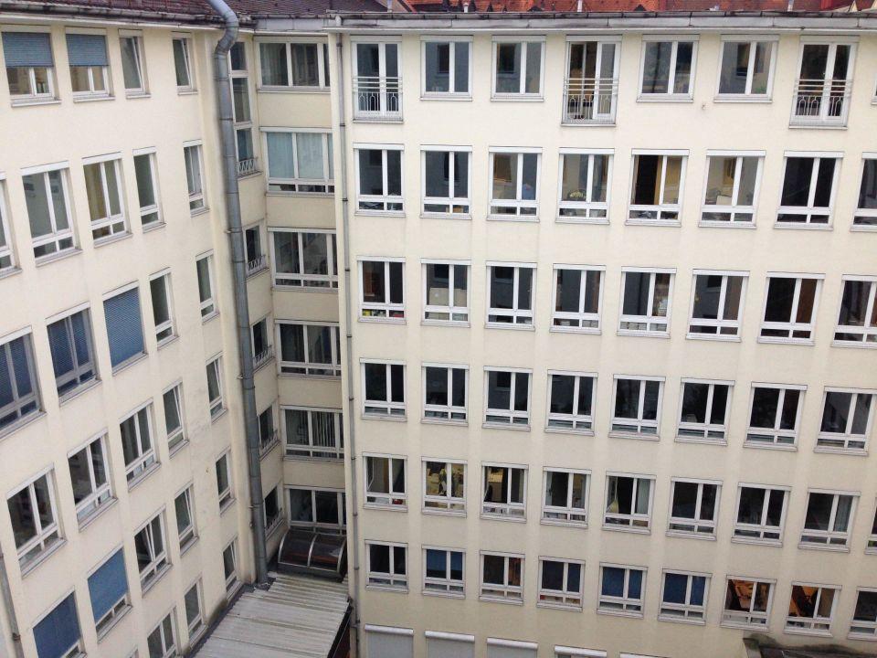 Ausblick aus dem Zimmer Motel One München Sendlinger Tor