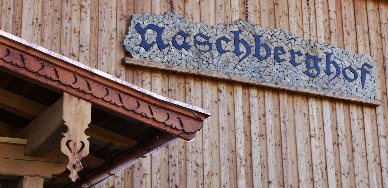 Außenansicht Naschberghof Appartements Naschberghof
