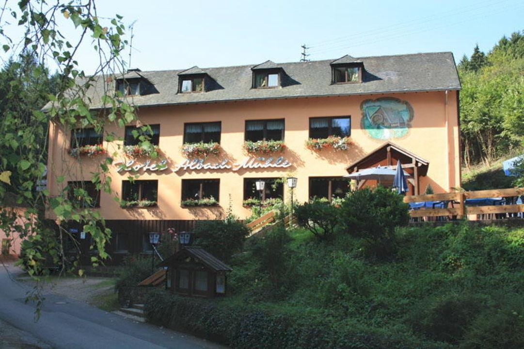Hotel-Restaurantansicht Hotel Albachmühle