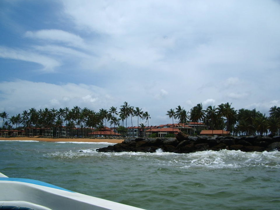 Hotel Dolphin vom Meer aus Club Hotel Dolphin