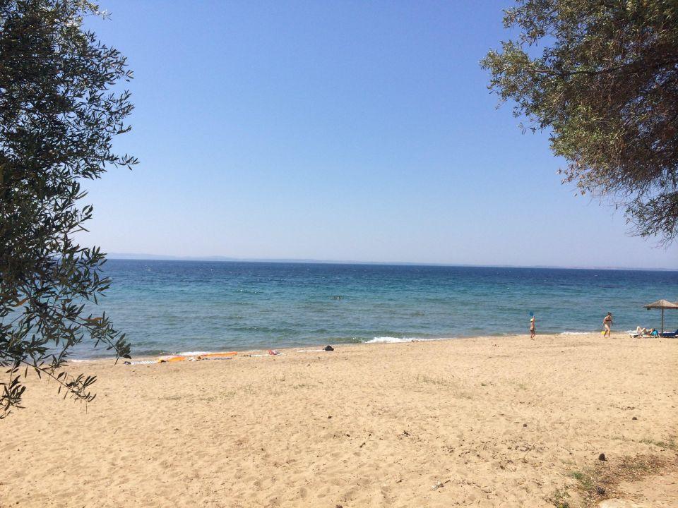 Пляж и море Trikorfo Beach