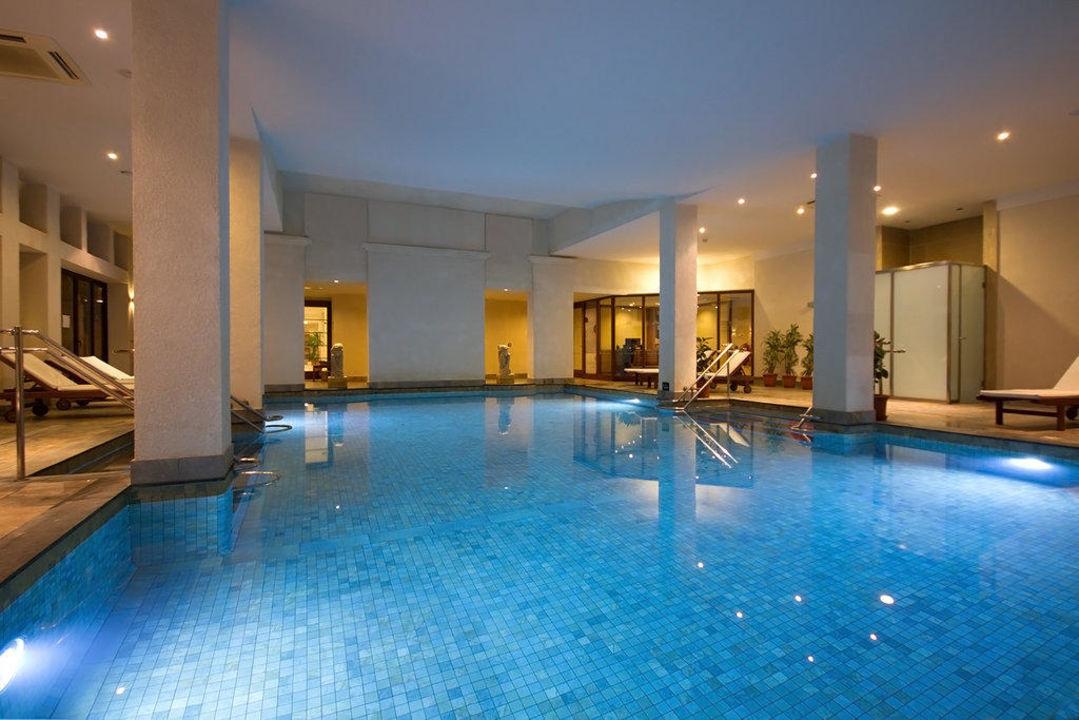Indoor Pool at Ramla Bay Resort\