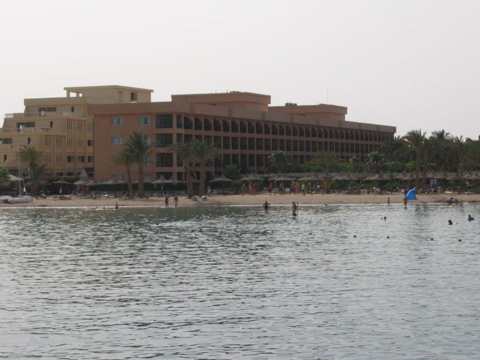 T - Block vom Wasser Giftun Azur Resort